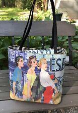 Vintage Retro 50's Scene Bag Purse Day Tote Women Spain Banco Espana