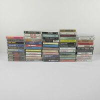 Eclectic Lot of 50+ Music Cassettes 60s 70s Country Gospel Christmas Disney