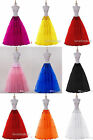 HotSaleStock Long Various Colors Petticoat/Underskirt Bridal Wedding Accessories