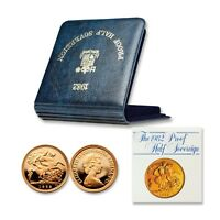 Great Britain 1982 Half Sovereign Gold Proof with COA