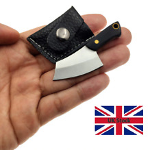 Mini Pocket Knife Stainless Steel Necklace Key chain Blade cutter EDC UK STOCK