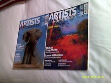 Two Artists & Illustrators Magazines