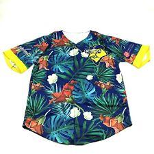 Vintage Dry Fit Hawaiian Shirt Baseball Jersey Xl Oversized Napa Salvation Army