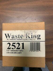"""Waste King 2521 1/2"""" Solenoid Valve 115V   *BRAND NEW*"""