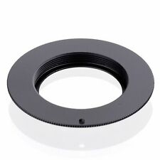 M42 Lens to Canon EOS EF 550D 500D 60D 50D 7D Adapter with plate