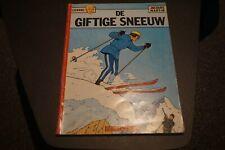Lefranc Nr.3 - De giftige sneeuw (1e druk - 1975)