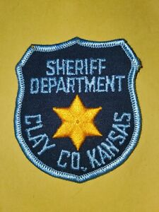 Clay County Kansas Sheriff Dept Patch