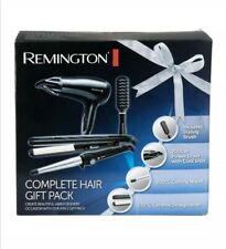 Remington Complete Professional Hair Gift Pack Hair Dryer Curling Wand Straight