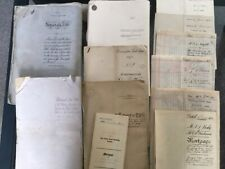 More details for collection of indentures, mortgage deeds and abstract of the title. 12 items