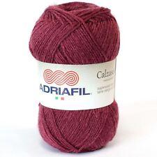 Adriafil Calzasocks Sock Yarn - Burgundy (042)