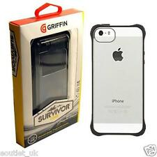 Griffin Survivor Core Case Cover for iPhone 5/5s/SE Clear/Black Strong BRAND NEW