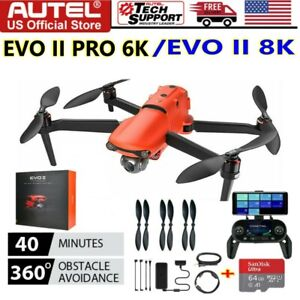 Autel Robotics EVO II Pro Drone Quadcopter 6K/EVO II 8K Ultra HD Video +64G Card