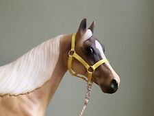 Traditional Scale Buttercup Yellow Model Horse Halter For Breyer
