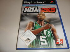 PLAYSTATION 2 PS 2 NBA 2k9 USK-Classificazione: USK a partire dal 0 Sbloccato