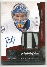 10-11 Dustin Tokarski The Cup Auto Rookie Card RC #147 Jersey Patch 191/249