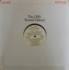 60's RADIO PRODUCTION CBS Sound Library Airport Sounds The CBS Sound Library EZQ