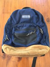Vintage Outdoor Products Backpack Made In America Leather Bottom