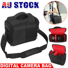 Waterproof SLR DSLR Lens Camera Bag Carry Case For Nikon Canon Sony EOS Olympus