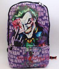 Batman Joker backpack cosplay DC bag SCHOOL SPORTS COMPUTER shoulder BAG