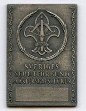 Sweden Swedish Medal Scout Association Championship Nice Grade !!!