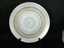 "Rare Sascha Brastoff Roman Coin Gray Gold Chop Plate 13 3/8"""