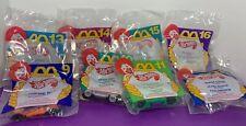 Lot of 8 McDonald's HOT WHEELS Happy Meal Cars NEW SEALED 1994 Mattel