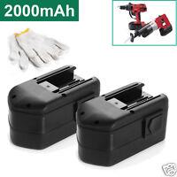 2 x 18V Ni-Cd Battery for MILWAUKEE 48-11-2230 18 Volt