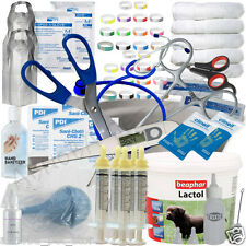 ESSENTIAL Puppy Whelping Kit Beaphar Lactol Milk Bottle Iodine ID Band 62 + Item