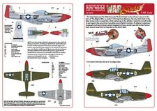 NEW 1:48 Kits World Decals 48181 North-American P-51B Mustang & 'My Achin Back'