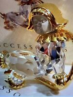 SWAROVSKI SWAN Signed Crystal Memories Angel Brooch Pin