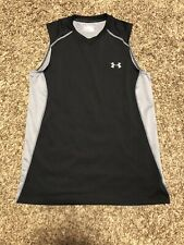Mens Under Armour Heat Gear Multicolored Med Fitted Sleeveless Shirt