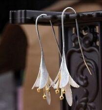 Zilveren oorbellen Bloem, Silver earrings Flower, Silberohrringe Blume