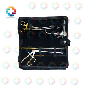Full Colposcopy Surgery Instrument Set High Grade 6 pcs Reusable