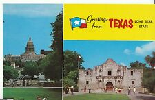 America Postcard - Greetings from Texas - Lone Star State   BH966