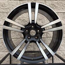 "20"" Porsche Cayenne wheels and tires Turbo II GTS rims - Black Machine"