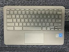 New listing Hp Chromebook 11 G6 Ee Palmrest Keyboard & Touchpad Assembly L14921-001 Tested