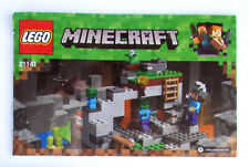 LEGO Minecraft - 21141 Instruction Manual Booklet Only