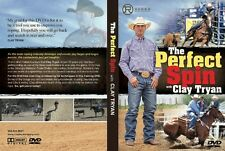 Clay Tryan Perfect Spin Team Roping Instruction DVD 90 min heading USTRC WSTR