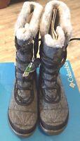 "New Womens Size 8 Columbia ""Minx Mid II"" Omni-Heat Wool Waterproof Winter Boots"