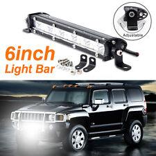 6Inch 18W 1800lm LED Work Light Bar Driving Lamp Fog Off Road SUV Car Boat Truck