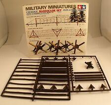 Tamiya Military Miniatures arricade set guerre War kit n° 35027 1:35