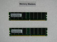 2GB (2x1GB) MEMORY RAM DDR333 PC2700 NON ECC 184PIN