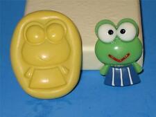 Sanrio KeroKero Keroppi Frog Push 2D Mold Food Safe Silicone A90 Cake Topper Wax