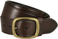 "Tennessee Gold Men's Leather Work Uniform Belt 1 3/4"" Wide - Brown"