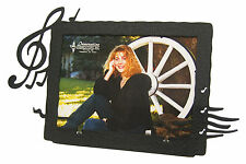 """Music Note Singer Picture Frame 5""""x7"""" H"""