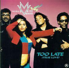 "The Real MILLI VANILLI - Too Late (True Love) 7 "" FOC Single (S8962)"
