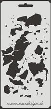 Scrapbooking Schablone S-009  Dreck ~ Stencil ~ UMR-Design