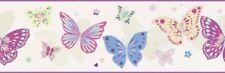 Marburg Tapete 45909 Kunterbunt Borte Schmetterlinge Vliesborte Vlies Bordüre