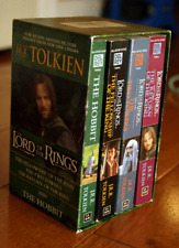 The Lord Of The Rings by J.R.R. Tolkien Boxed Set 4 Paperback Books (2001) Nice