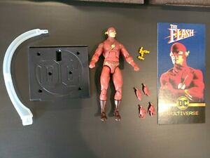 DC Universe Multiverse Signature Collection THE FLASH 90s Loose Complete Mattel